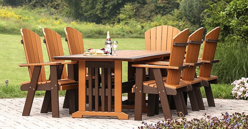 outdoor dining amish depot