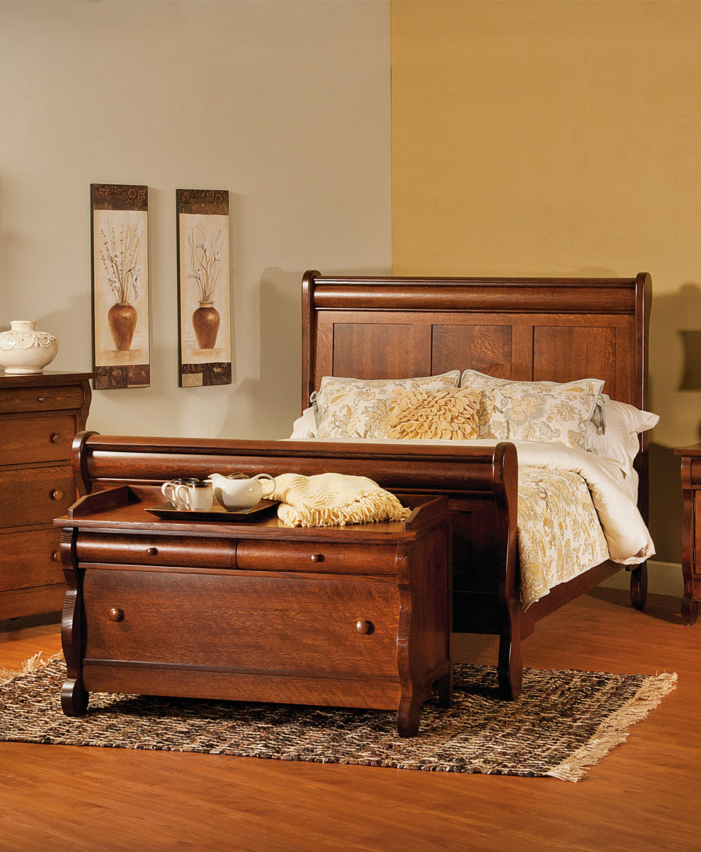 Old Classic Sleigh Bed Amish Direct Furniture
