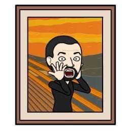 AH version of The Scream