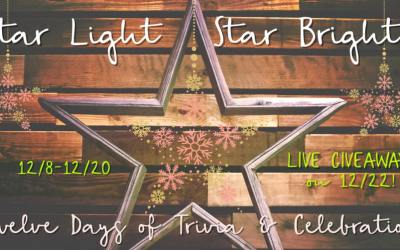 Star Light Star Bright: 12 Days of Trivia and Team Celebration (PLUS giveaways!)