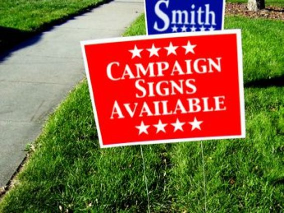 Yard Signs in Frederick MD