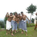 trip to chamba (left to right) saleem, gaurav, me, virendra , debjyoti