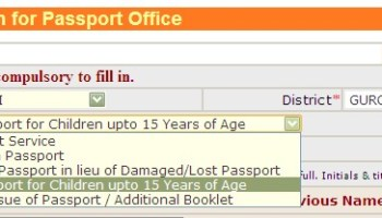 Reissue of Indian Passport after expiry