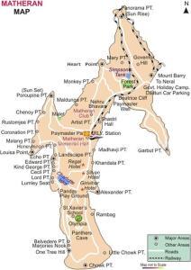 Matheran-map