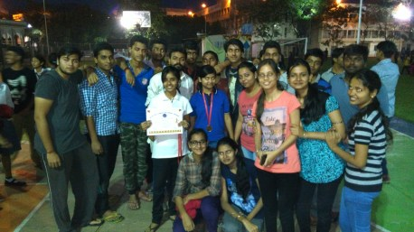 Prize winners of IT Dept.