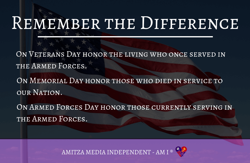 7 things to remember about Memorial Day - Amitza Media ...