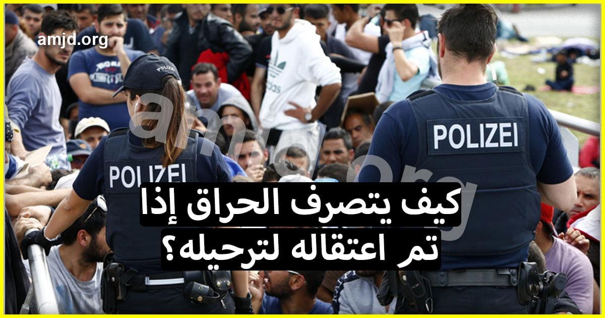 كيف يتصرف المهاجر السري أو طالب اللجوء في النمسا إذا تم اعتقاله لترحيله؟