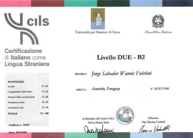 شهادة CILS