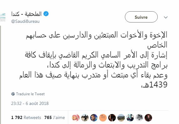 أزمة السعودية وكندا