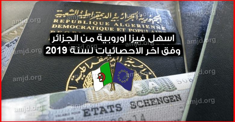 اسهل-فيزا-اوروبية-من-الجزائر-وفق-احصائيات-المفوضية-الأوروبية-لسنة-2019