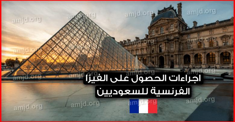 فيزا فرنسا من السعودية