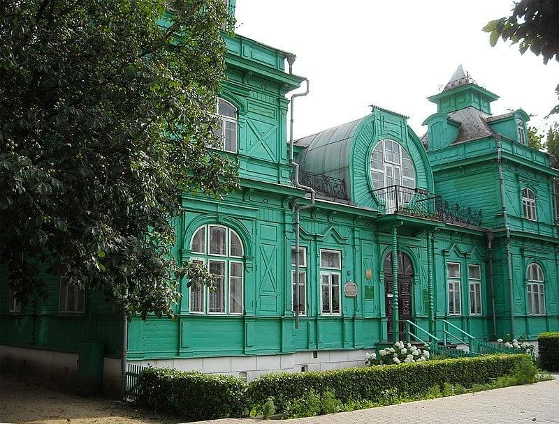 المكتبة الخضراء في بيلاروسيا