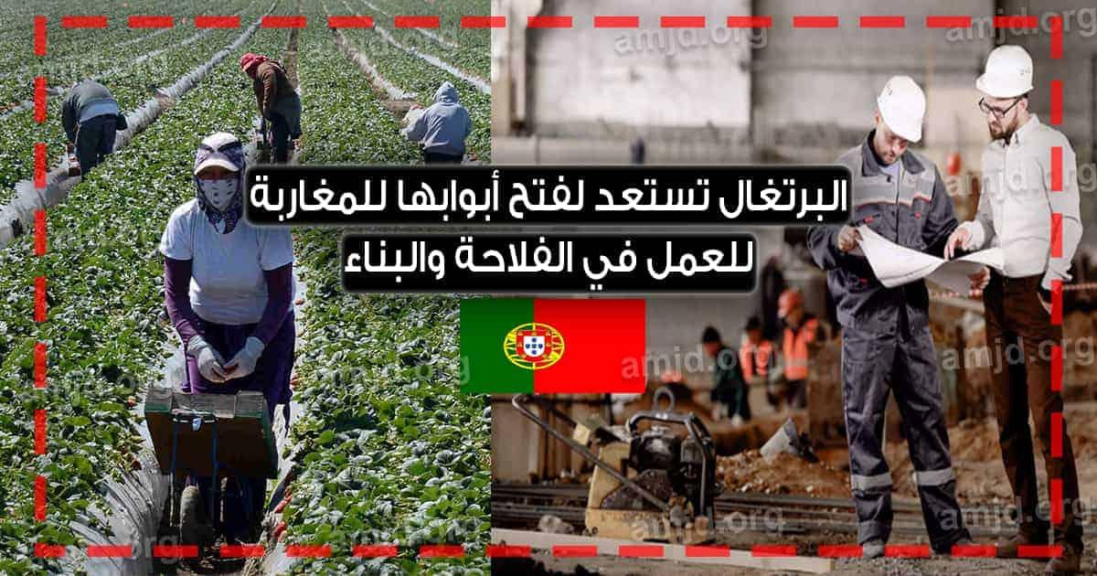 خاص بالمغاربة .. البرتغال ستفتح أبوابها للهجرة للراغبين في العمل في البناء أو الفلاحة