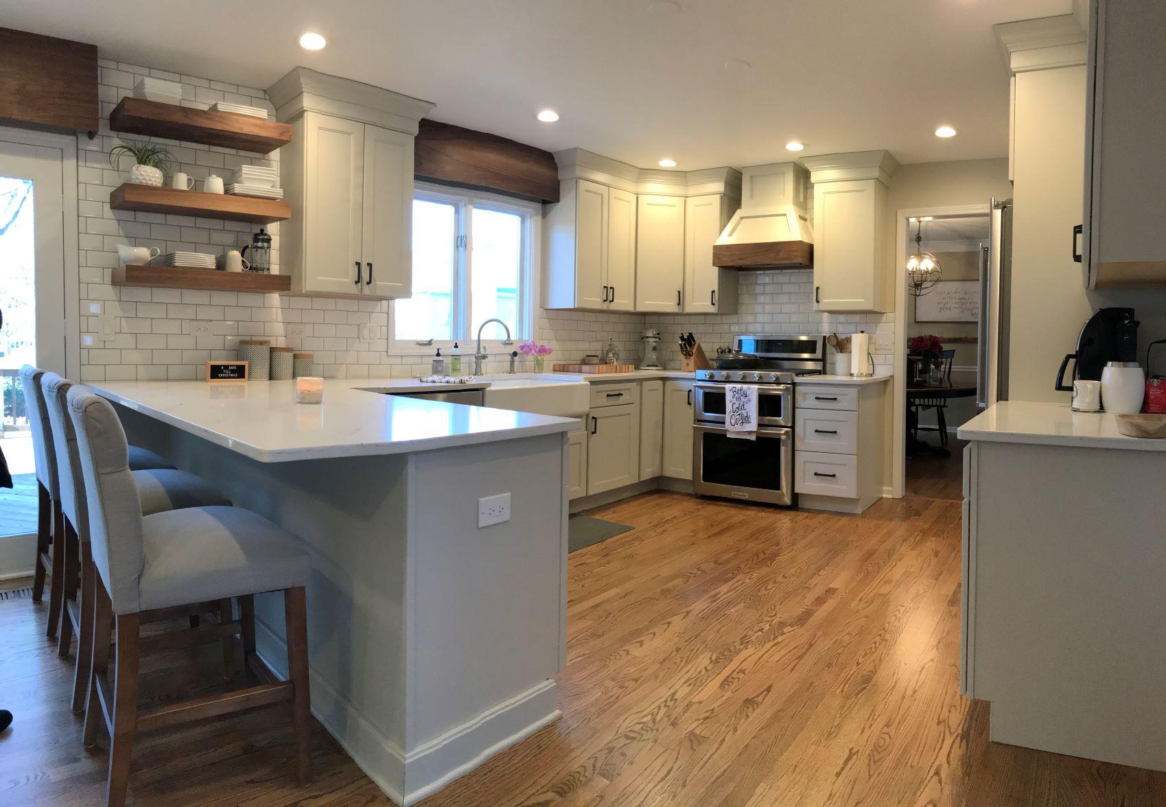 modern farmhouse batavia kitchen am
