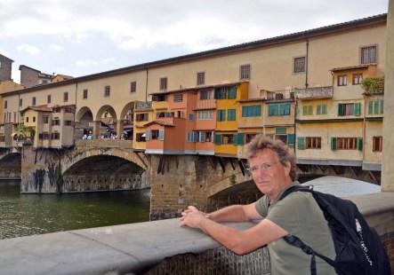 Klaus an der Ponte Vecchio