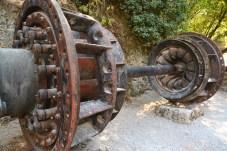 Teil des 1. Wasserkraftwerks Kroatiens
