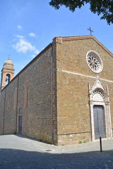Montalchino Kirche