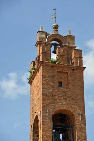 Montalchino Kirchturm