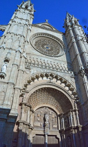 Kathedrale Eingangstor