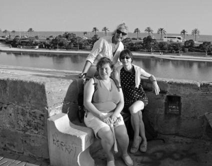 auf dem Mirador der Kathedrale mit Blick auf die Hafenbucht