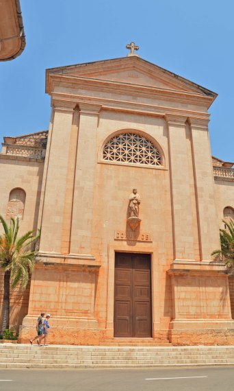 Ses Salines Kirche