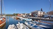 Bardolino Hafen kurz vorm Ablegen