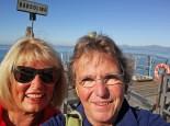 Selfie am Schiffsanleger Bardolino