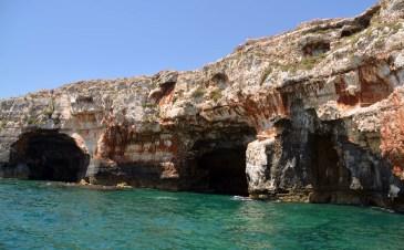 Grotta delle Tre Porte ionisches Meer