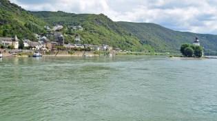 Blick auf Kaub und die Pfalz