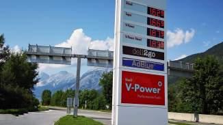 Italienische Preise für Diesel und Benzin