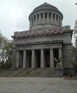 Grant's Tomb in early May