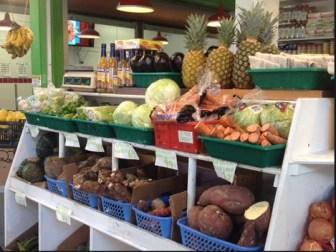 Produce at La Marqueta