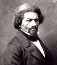 Abolitionist and former slave Frederick Douglass