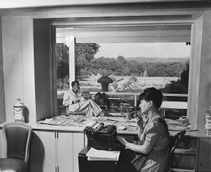 Dorothy Parker and Alan Campbell in 1937