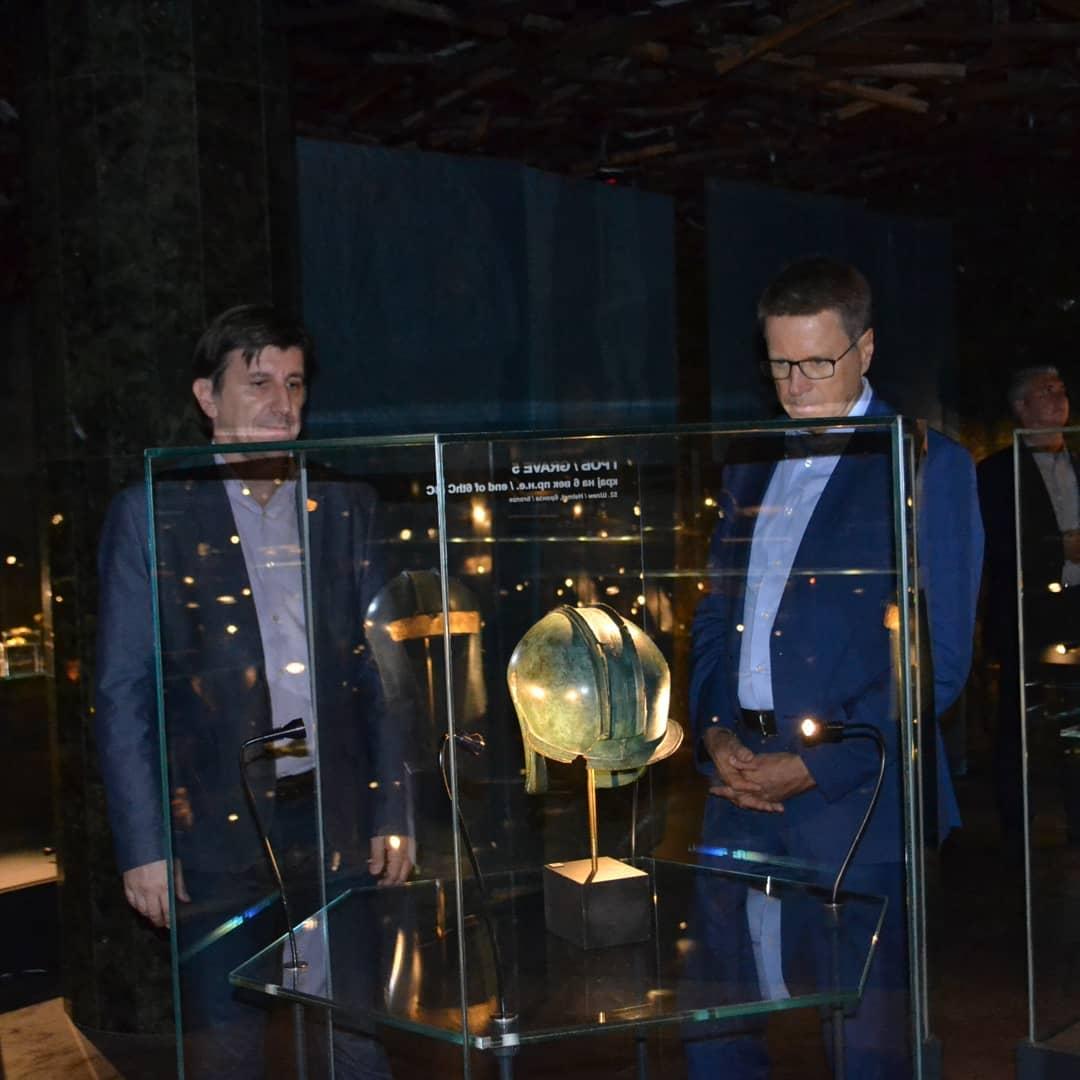 """Самуел Жбогар во посета на """"100 години Требениште"""""""