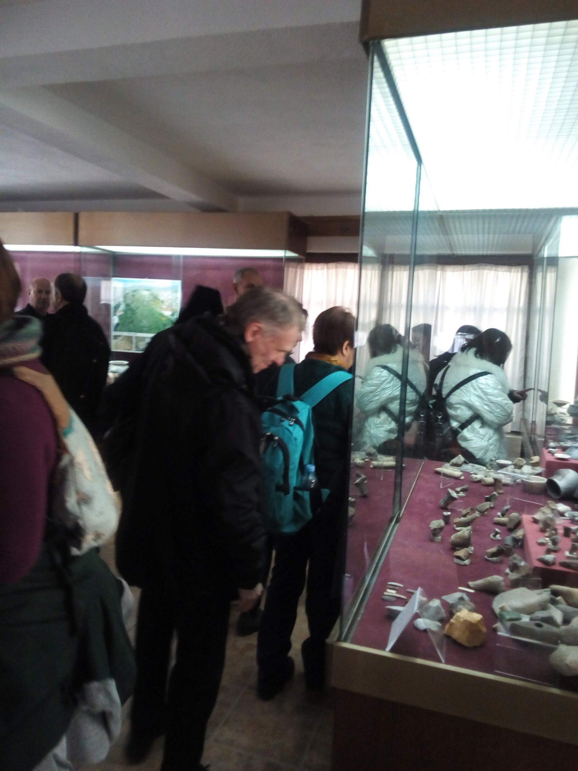 Домашни и странски посетители на Музејската збирка во Кочани