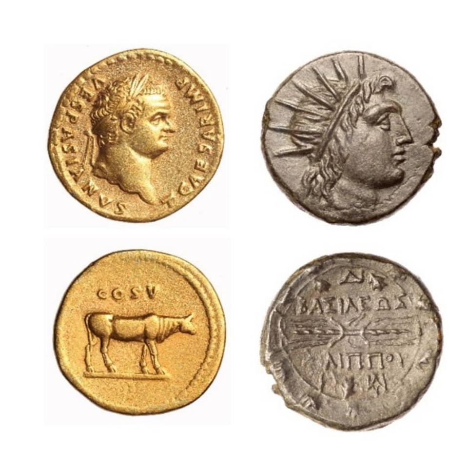 Монети од античка нумизматичка збирка