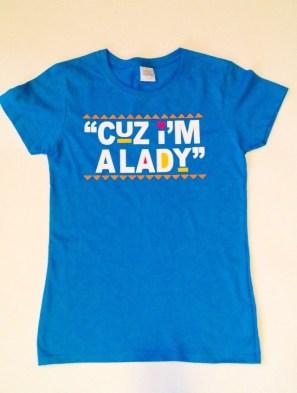 Cuz I'm a Lady