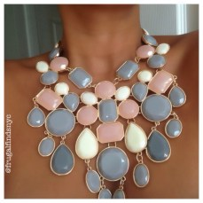 Blush Stone Necklace $39.99