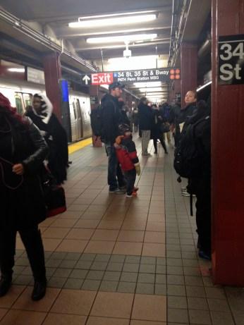 Subway randomness