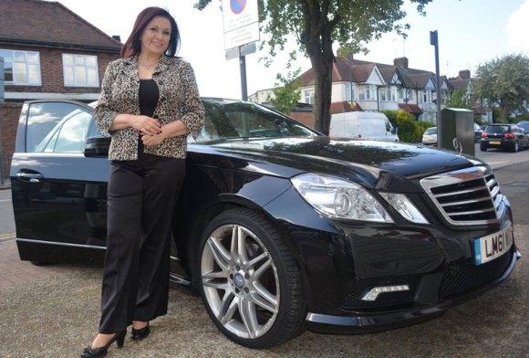 Irena-Oliver-car