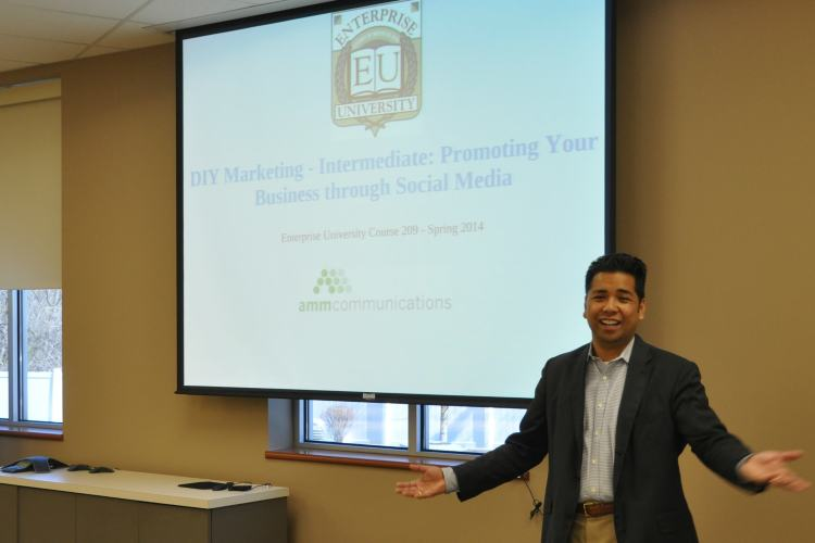 Ed Mayuga, AMM Communications, teaches Strategic Marketing Tactics