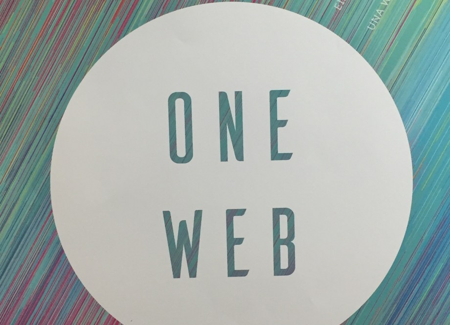 "MozFest 2016 Poster ""One Web"""