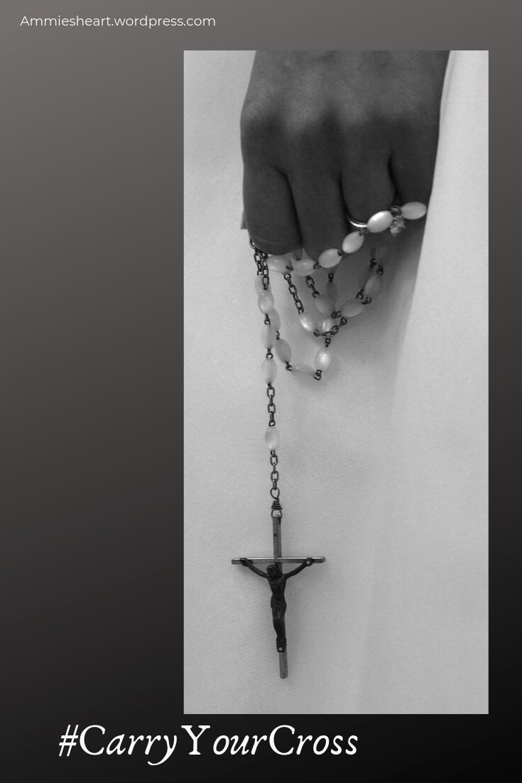 #CarryYourCross pin post