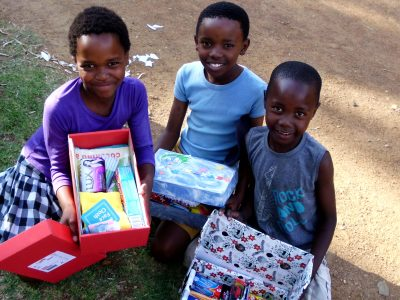 Christmas Shoebox Campaign 2018