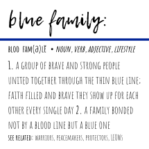 blue family definition