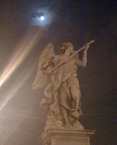 Angel with the lance, Domenico Guidi