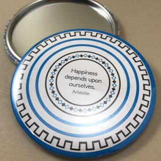 Motif Pocket Mirror