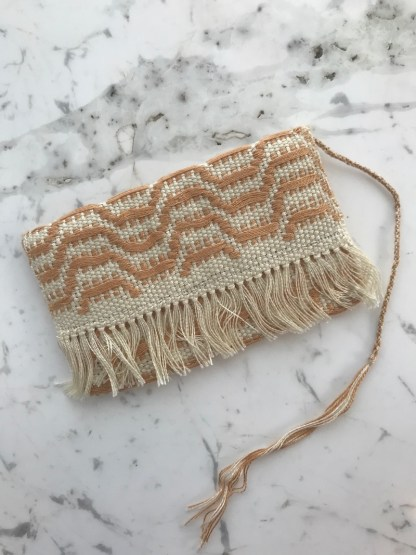 Loom Pouch Sand Waves