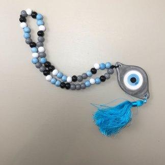 Blue Tassel Komboloi